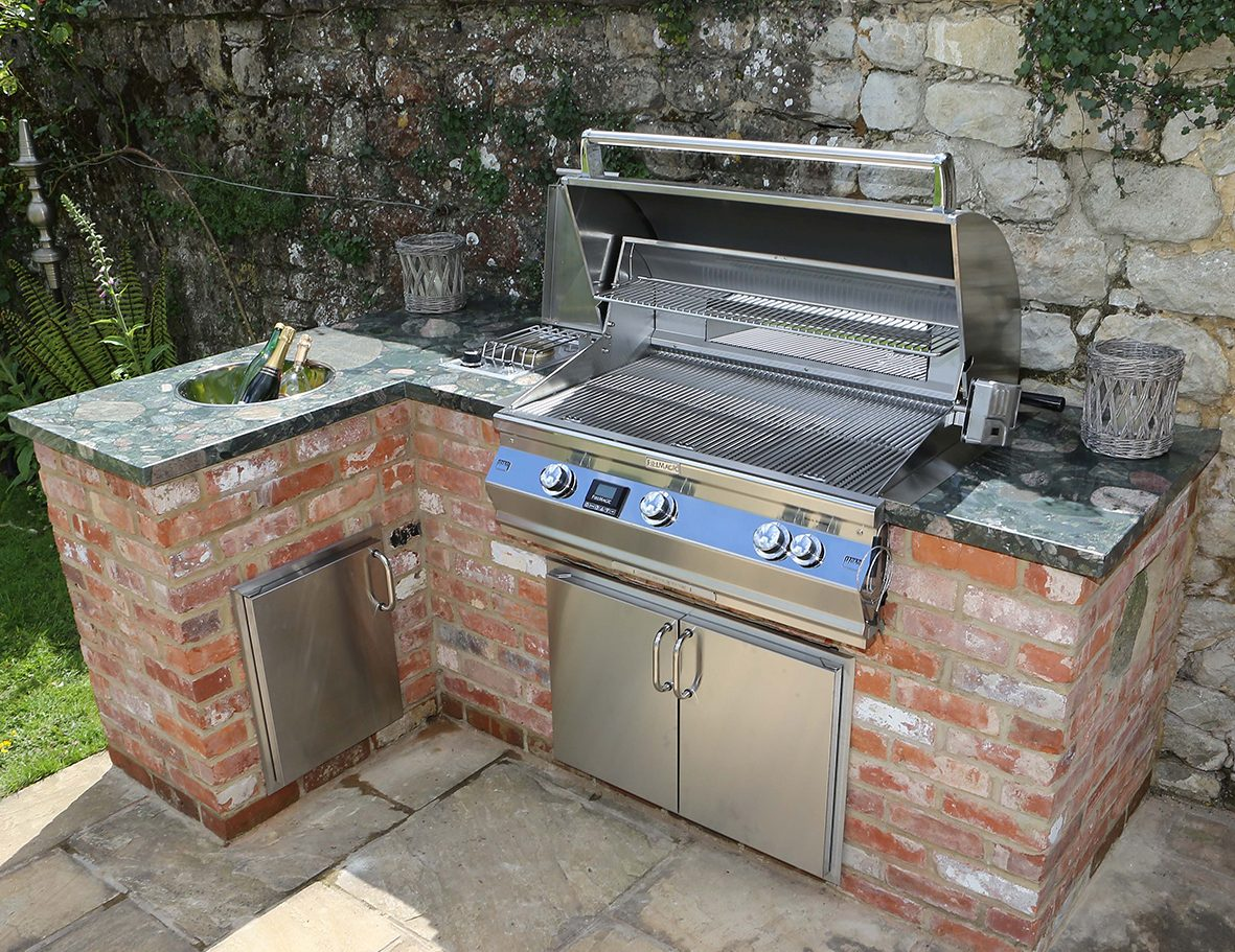 Smoker Outdoor Küche Outdoor Kitchens Built In Bbqs By Fire Magic