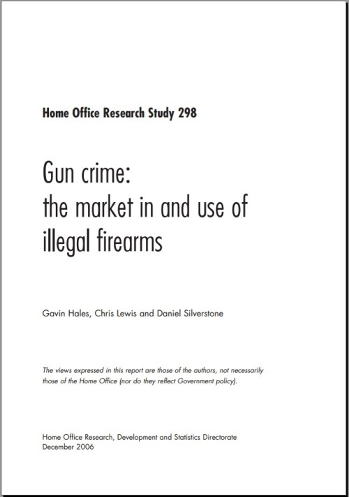 Home Office Research Study 298