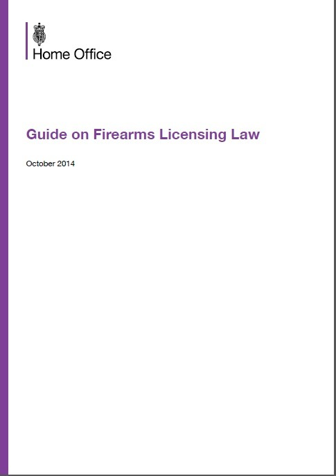 Guide on Firearms Licensing Law