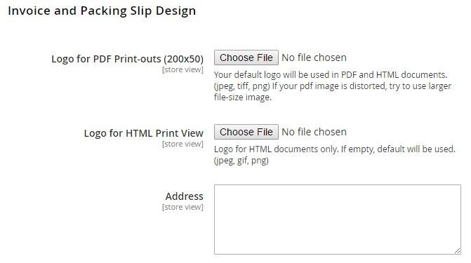 packing slip design