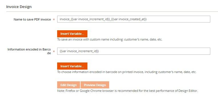 Magento 2 Custom PDF Invoices FireBear - invoice pdf template
