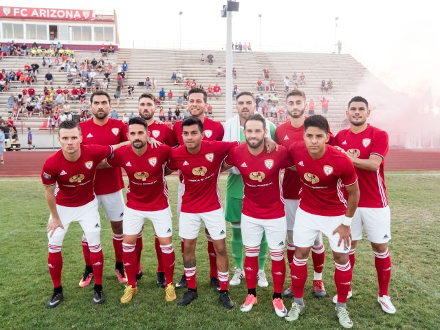 FC Arizona thrashed SC Corinthians 7-0 on June 17, 2017