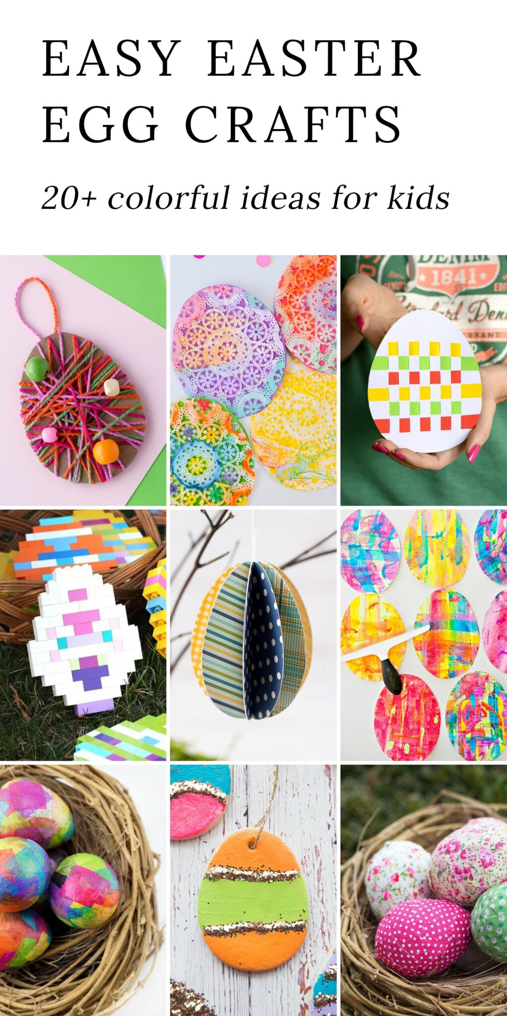 Art Decorating And Crafting The Most Easy And Entertaining Egg Crafts For Kids