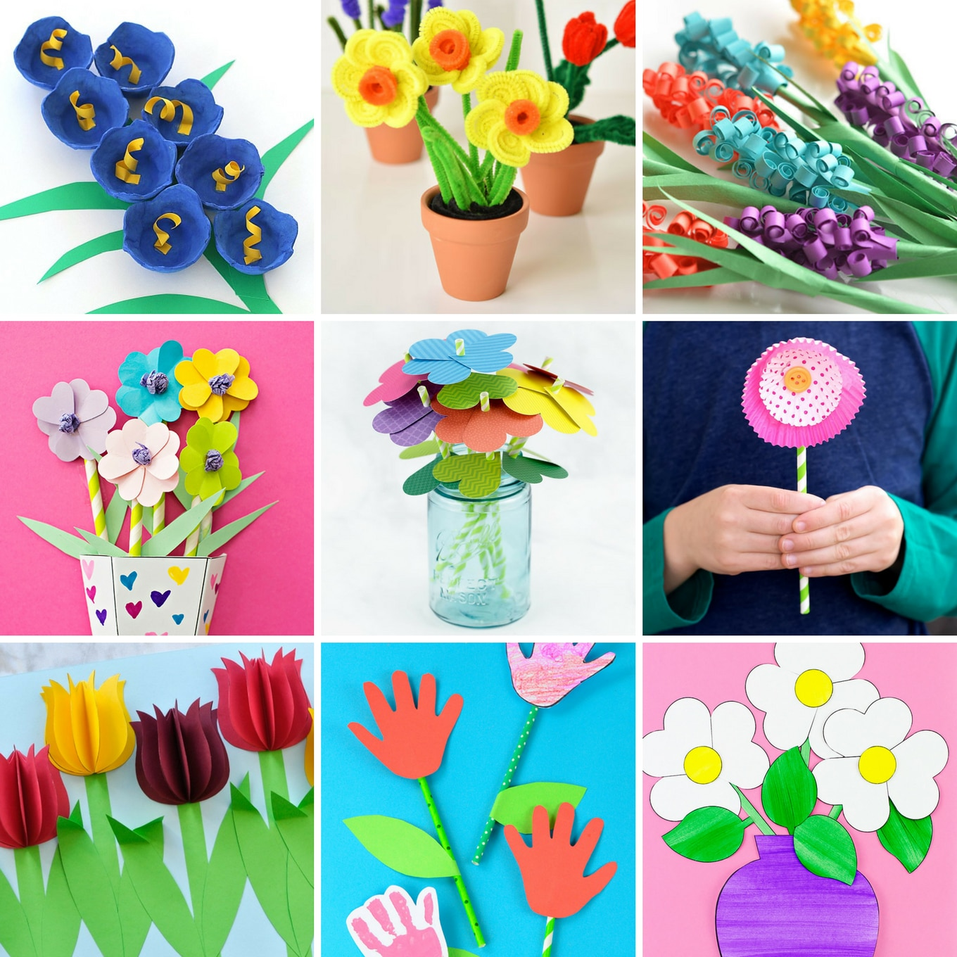 Art Decorating And Crafting The Most Easy And Beautiful Flower Crafts