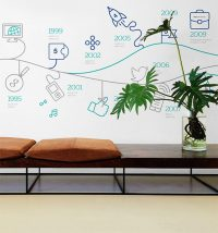Portfolio: Vetsolutions interior wall decor design, Firefly