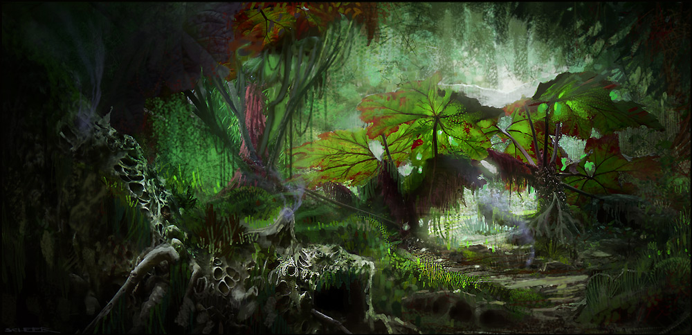Dark Souls Animated Wallpaper The Best Collection Of Fantasy Jungle Art Fire In The