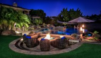 Backyard Landscaping Ideas With Fire Pit | Outdoor Goods