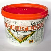 Heat resistant tile adhesive - 5 kg tub | Fireplace Tiles