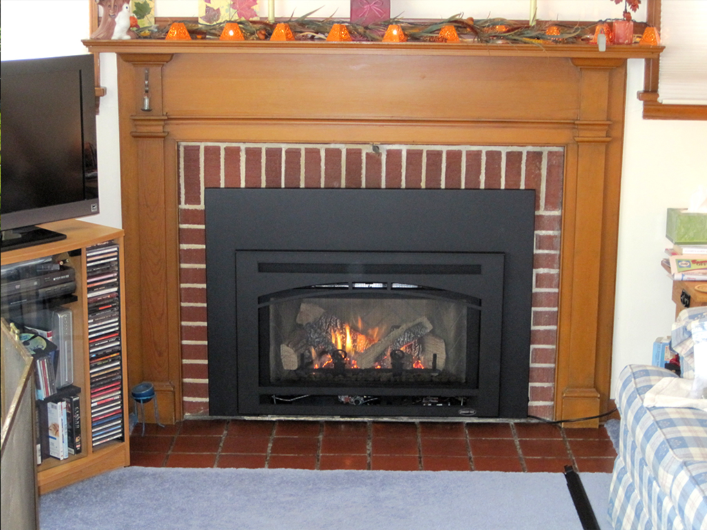 Cost To Convert Wood Fireplace To Gas Vented Gas Fireplace Attane Org