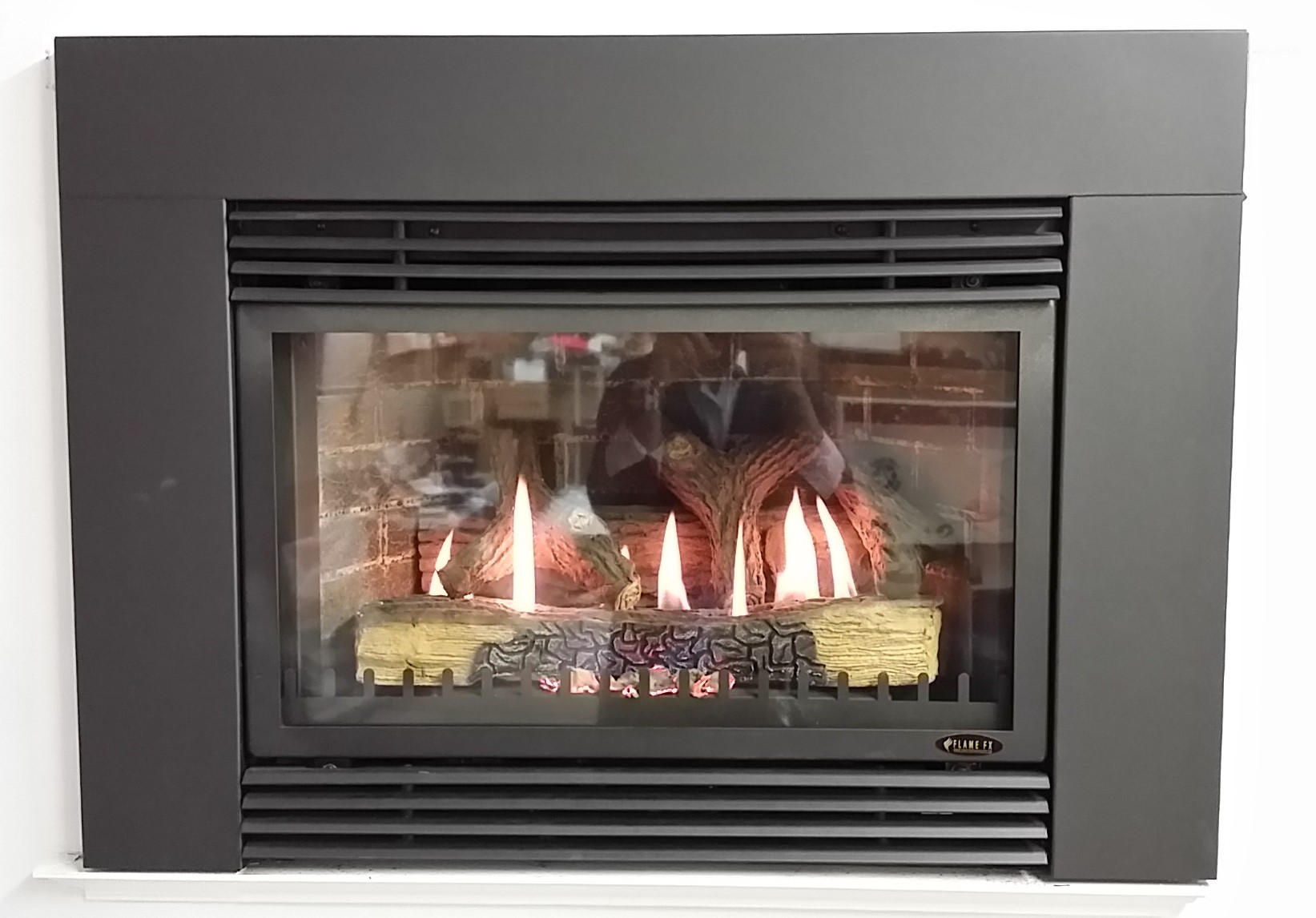Standard Gas Fireplace Insert Dimensions Flame Fx Gas Fireplace Fireplace Depot
