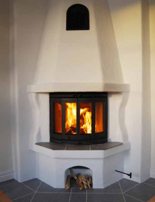 6 Hot Corner Fireplace Design Pictures