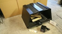 RC RIB CAGE DOUBLE SIDED Fireplace Grate Blower Wood Rack ...