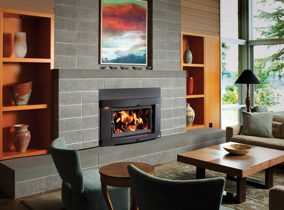 Avalon Gas Fireplace Inserts Avalon Large Flush Hybrid Fyre Wood Insert Fireplace Gallery