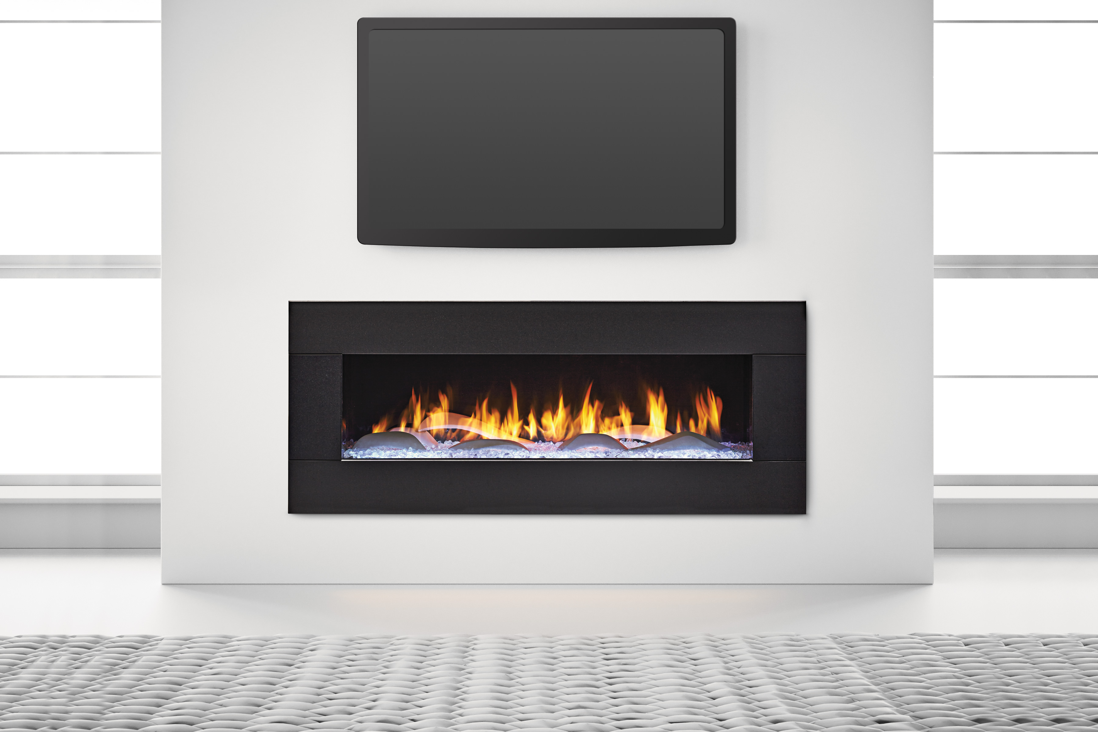 Glass Screen For Gas Fireplace Heat Glo Primo Series Gas Fireplace Fireplace Gallery Of