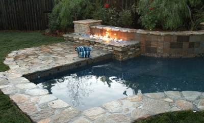 Propane And Natural Gas Fire Pits With Fireglass