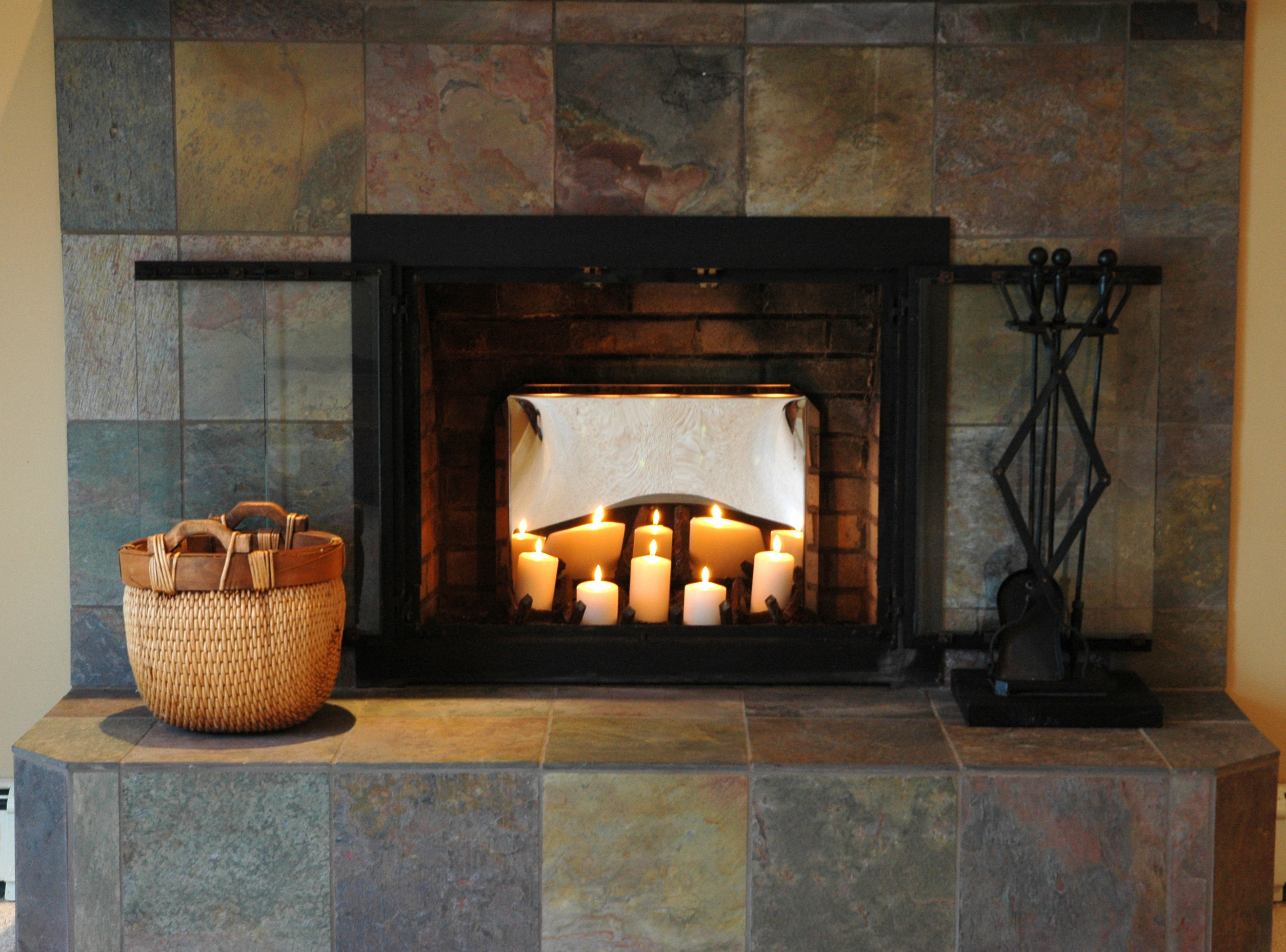Candles For Fireplace Insert Fireplace Candelabra Decorating Tips The Blog At Fireplacemall