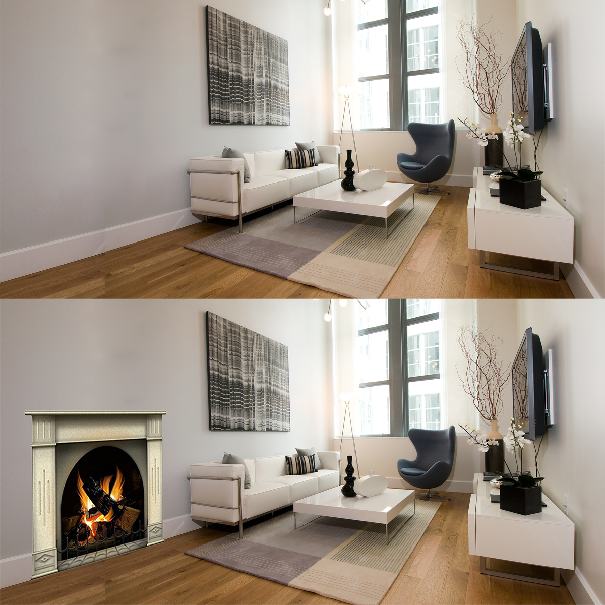 Fireplace Decal Cardboard Fireplace The Blog At Fireplacemall