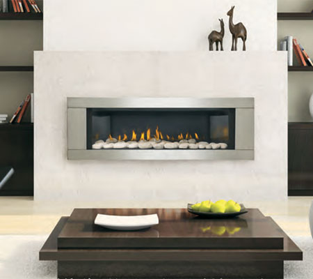 Fireplaceprocom Napoleon Lhd45 Vector 45 Linear Fireplace