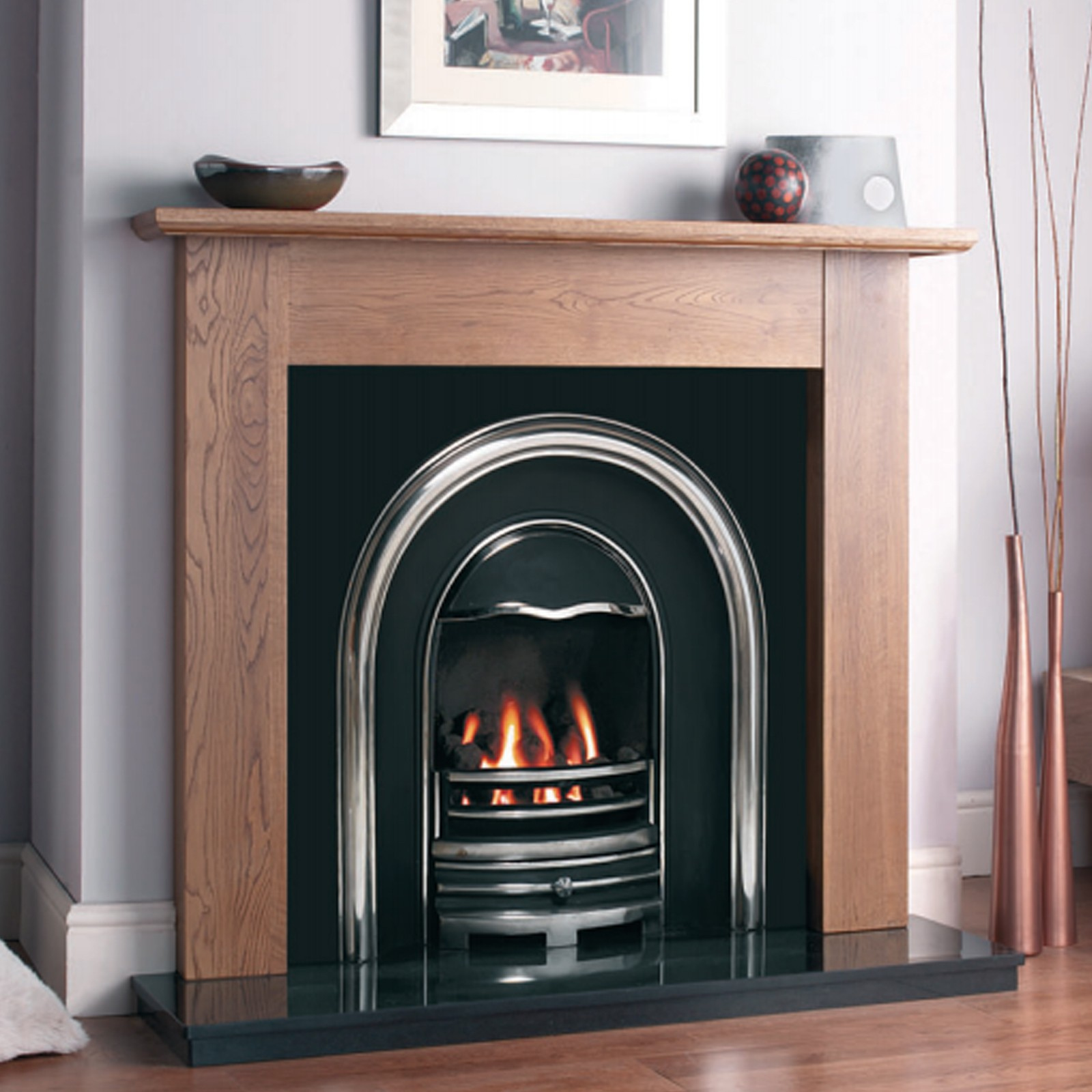 Electric Coal Fireplace Contemporary Feel Cast Tec Newcastle Fireplace Insert