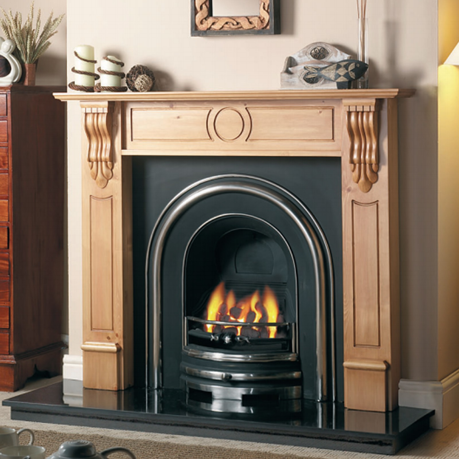 Electric Coal Fireplace Cast Tec Royal Arch Cast Iron Fireplace Insert