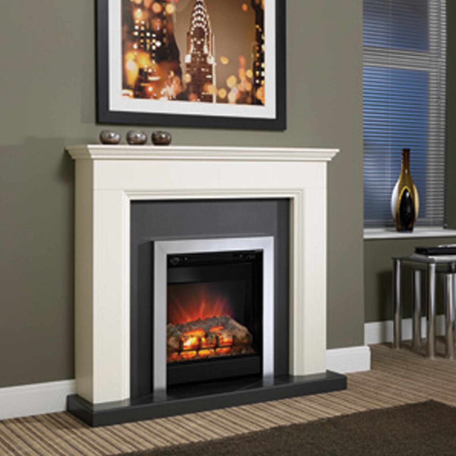 Modern Fireplaces Low Price Be Modern Westcroft 46 Quot Fireplace Suite