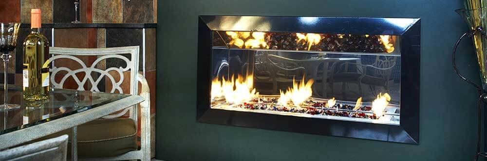 Stylus Fera Single Sided Fireplace