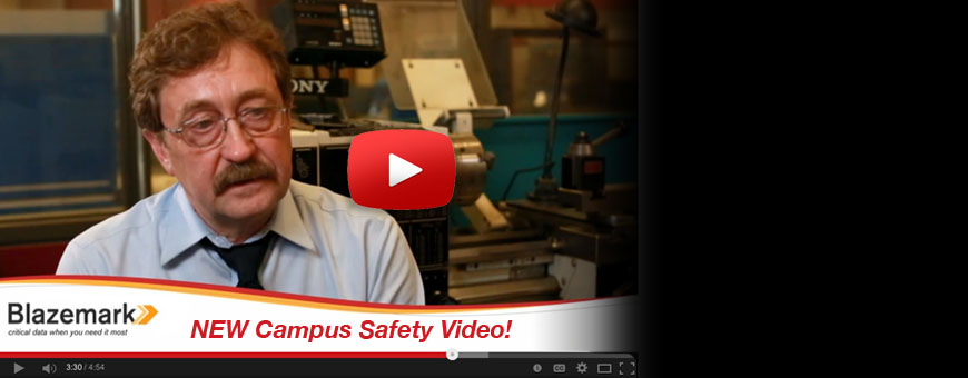 Use Blazemark to Preplan and Share your Pre planning for Campus Safety