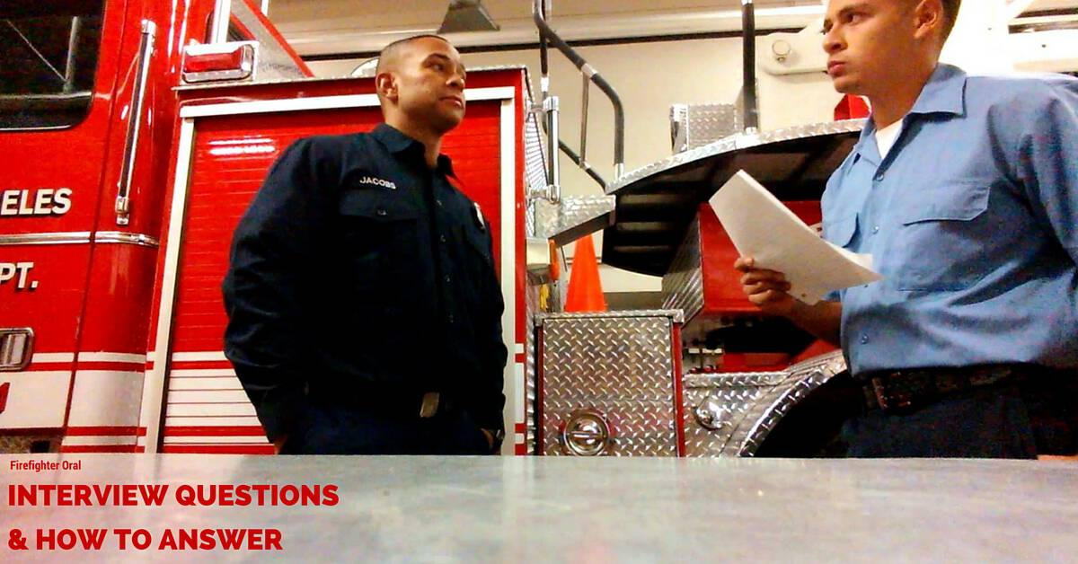 firefighter interview