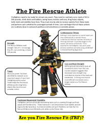 How Do You Define Firefighter Fit? - Firefighter Fitness ...