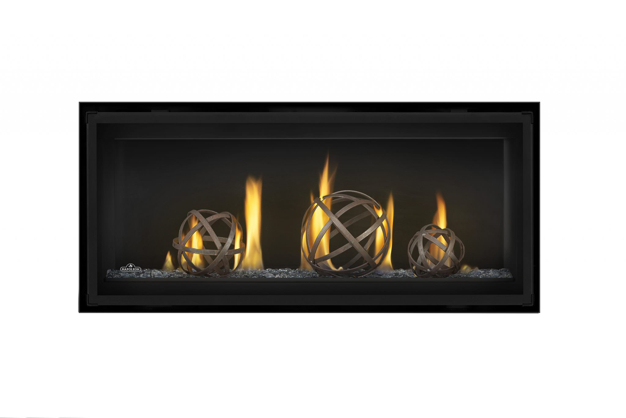 Glass Screen For Gas Fireplace Napoleon Luxuria Series 38 Linear Gas Fireplace Fireside