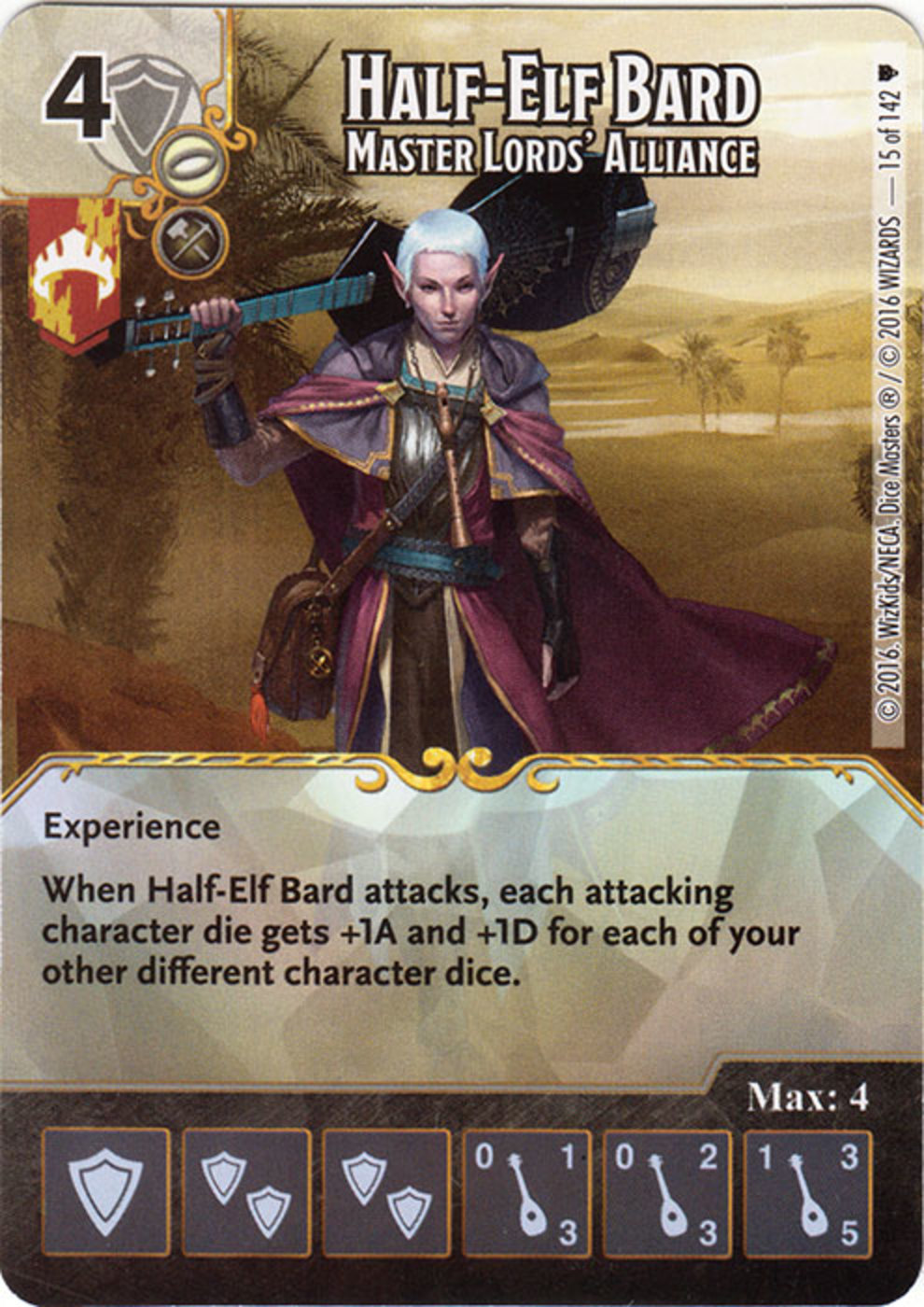 Master 2016 Firestorm Cards Half Elf Bard Master Lords 39 Alliance