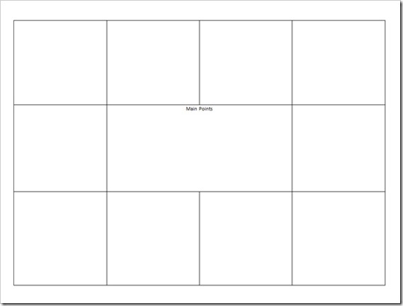 Visual Meeting Notes Template - meetings template