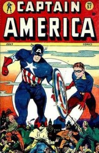 captain america 57