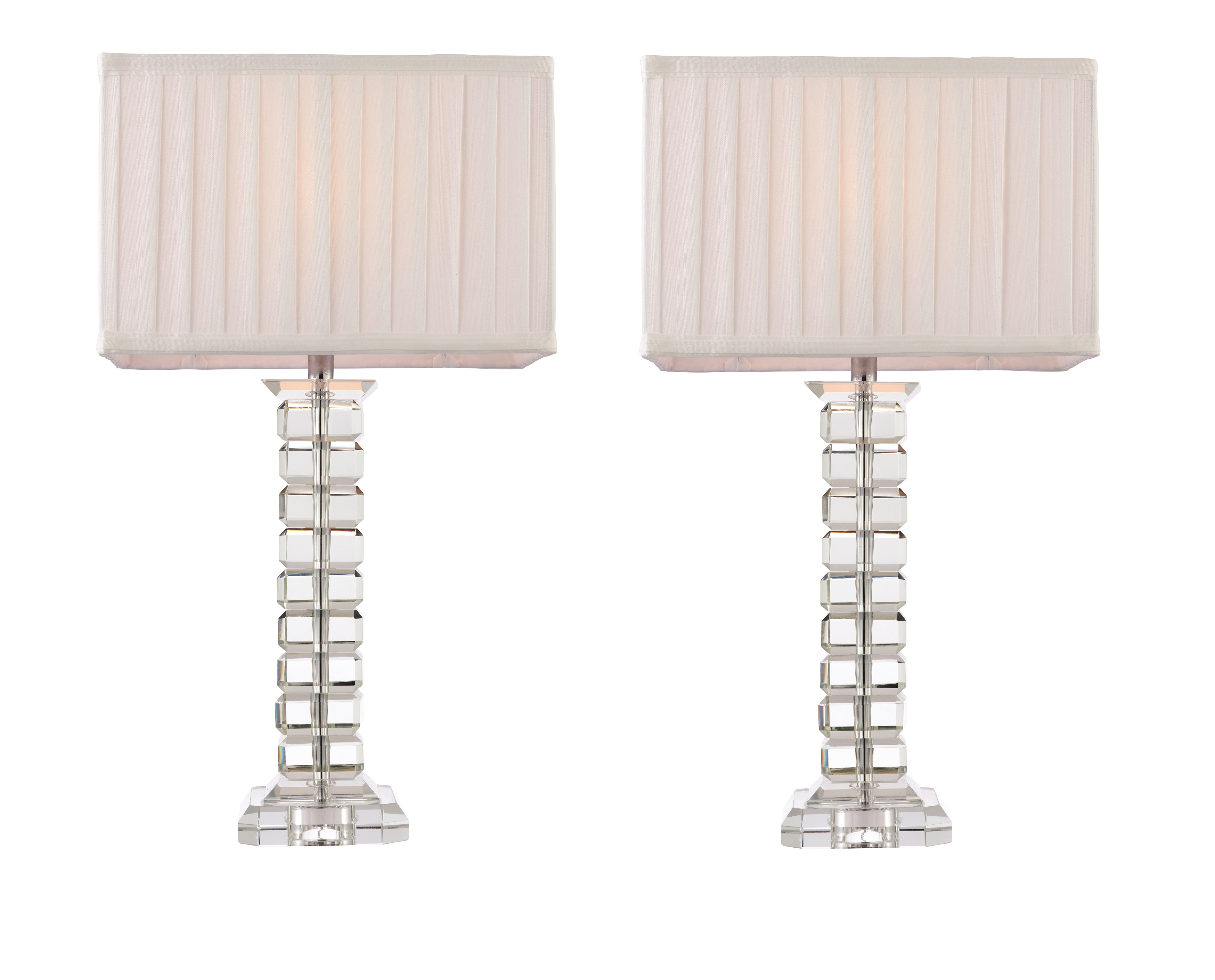 Tall Bedside Lamps Pair Of Tall Modern Glass Table Light Bedside Lamp Lights