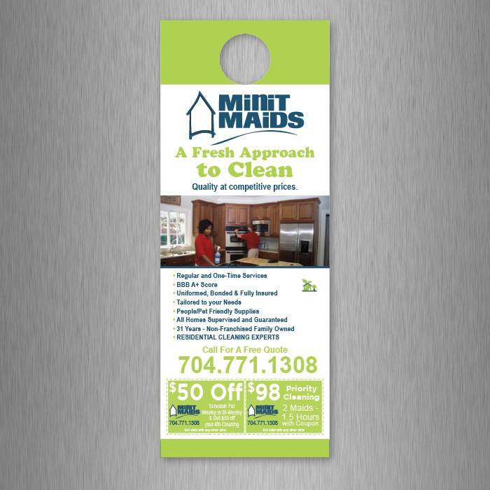 Consulting Services Door Hanger Template consulting services door - retail and consumer door hanger template