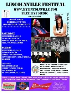 37th Annual Lincolnville Festival @ Eddie Vickers Park | St. Augustine | Florida | United States