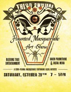 Third Annual Haunted Masquerade Art Show @ Corazon Cinema & Cafe | St. Augustine | Florida | United States
