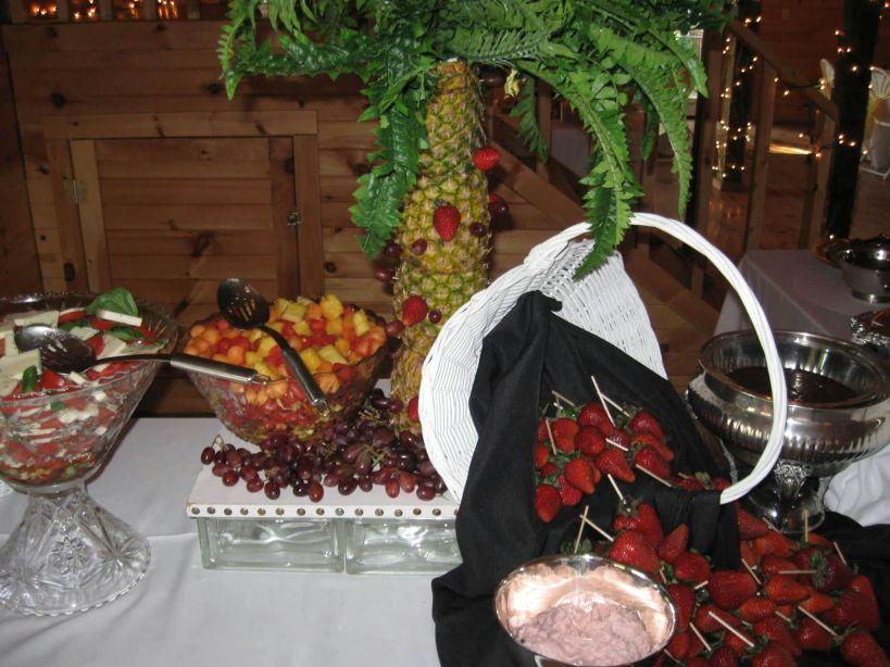 Fresh Fruits Display