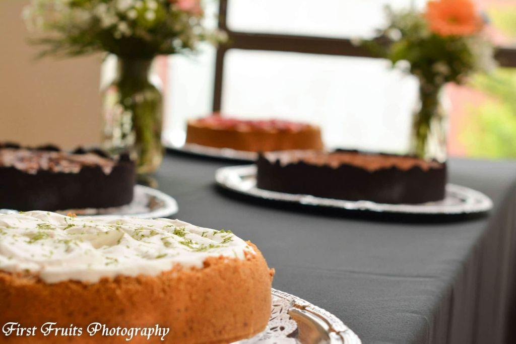 Key Lime Cheesecake, Cheesecake Dessert Station