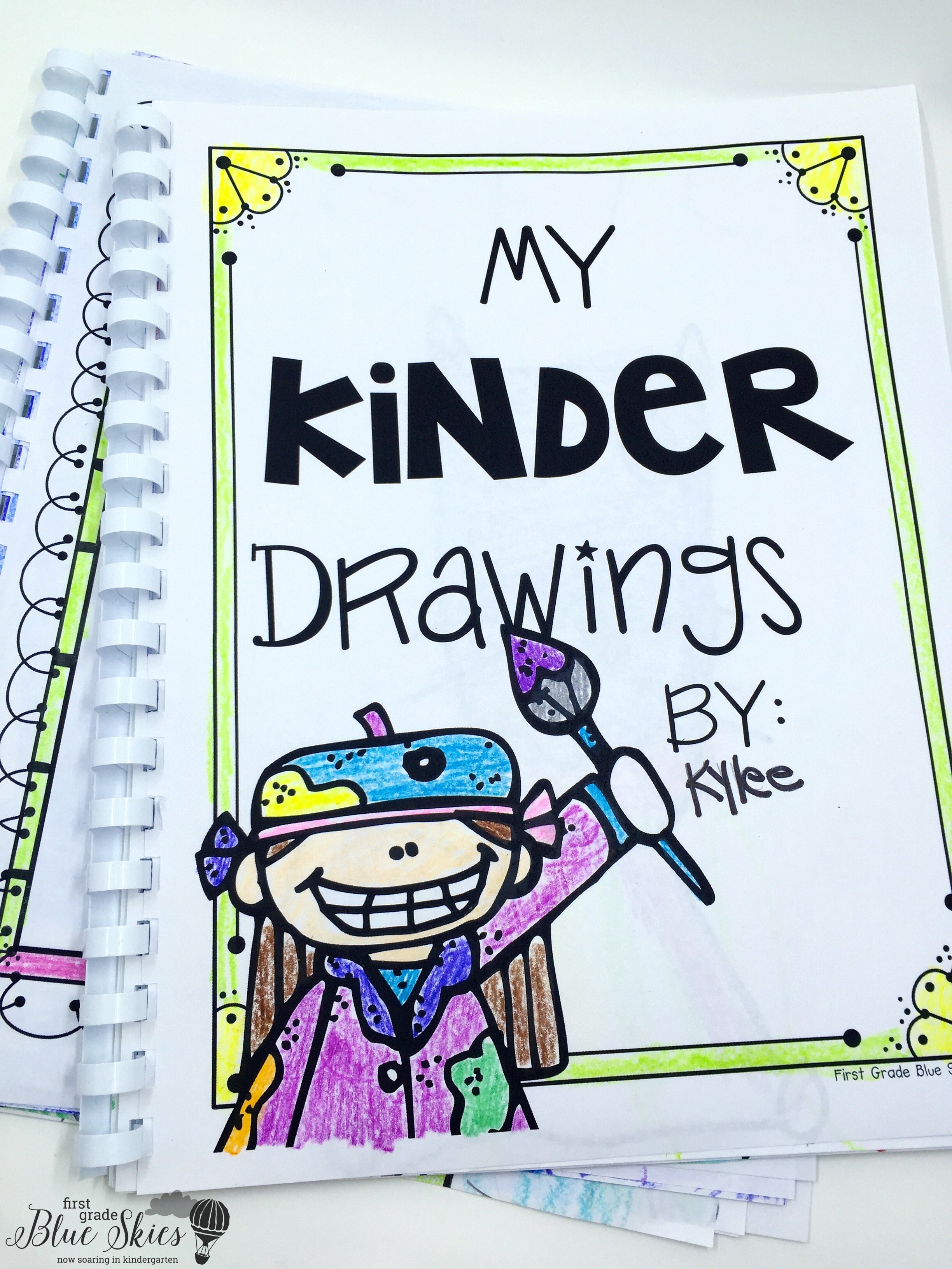 Kids Drawing Book Cover ~ Graduation directed drawing and free book covers first