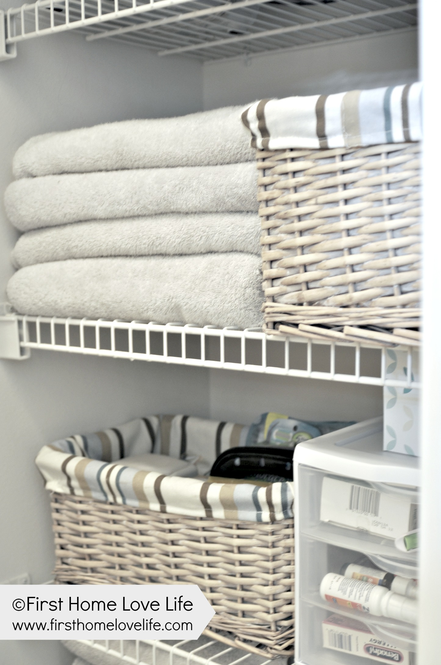 Linen Closet Organizer Systems Linen Closet Organization And Closet Pharmacy First Home
