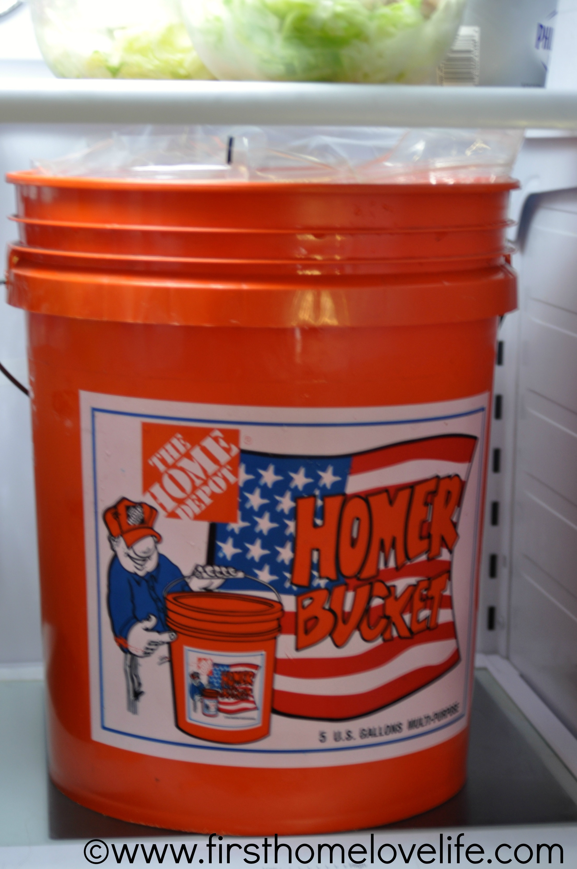 5 Gallon Bucket Home Depot The Perfect Thanksgiving Turkey First Home Love Life