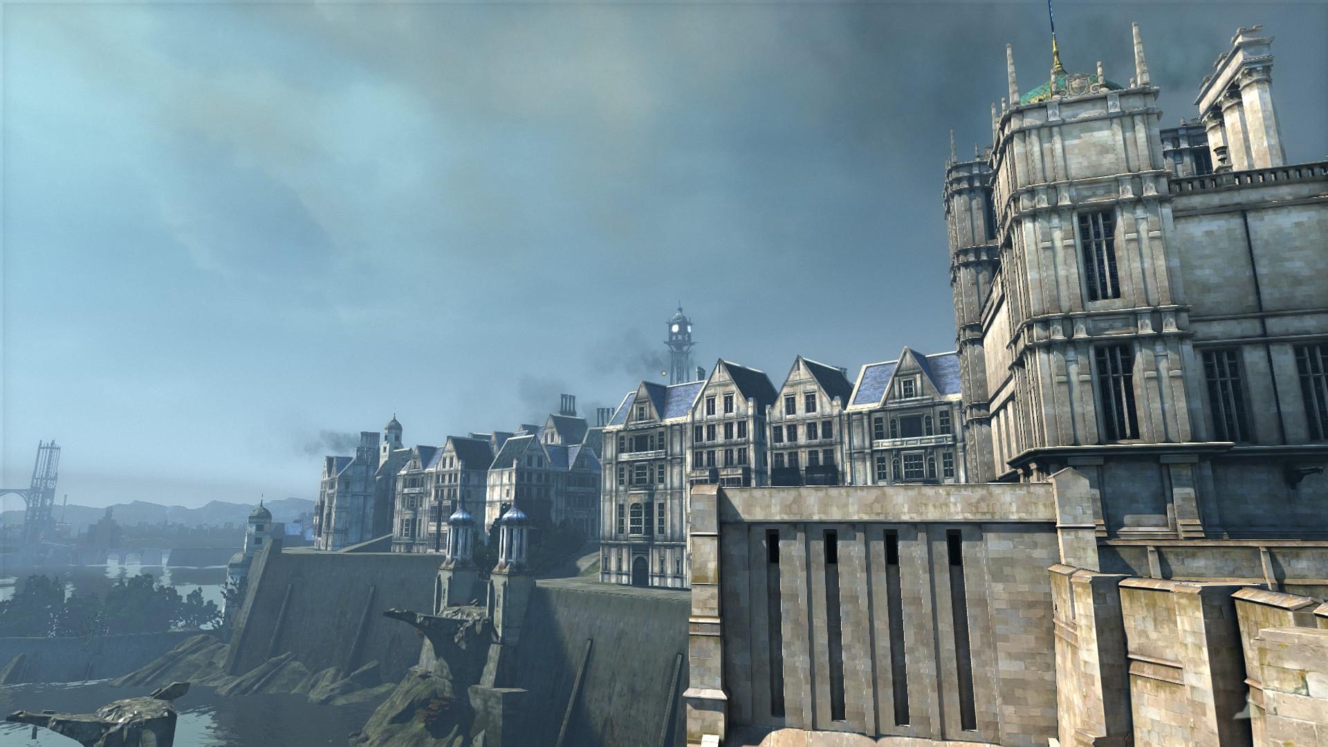 Mass Effect Fall Wallpaper The Dunwall Project New Full Renders Screenshots Show