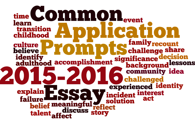 common app essay prompts 2015