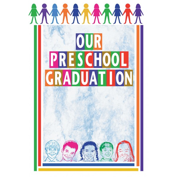 Preschool Graduation May 21, 2017 - First Presbyterian Church-Waynesboro - graduation program covers