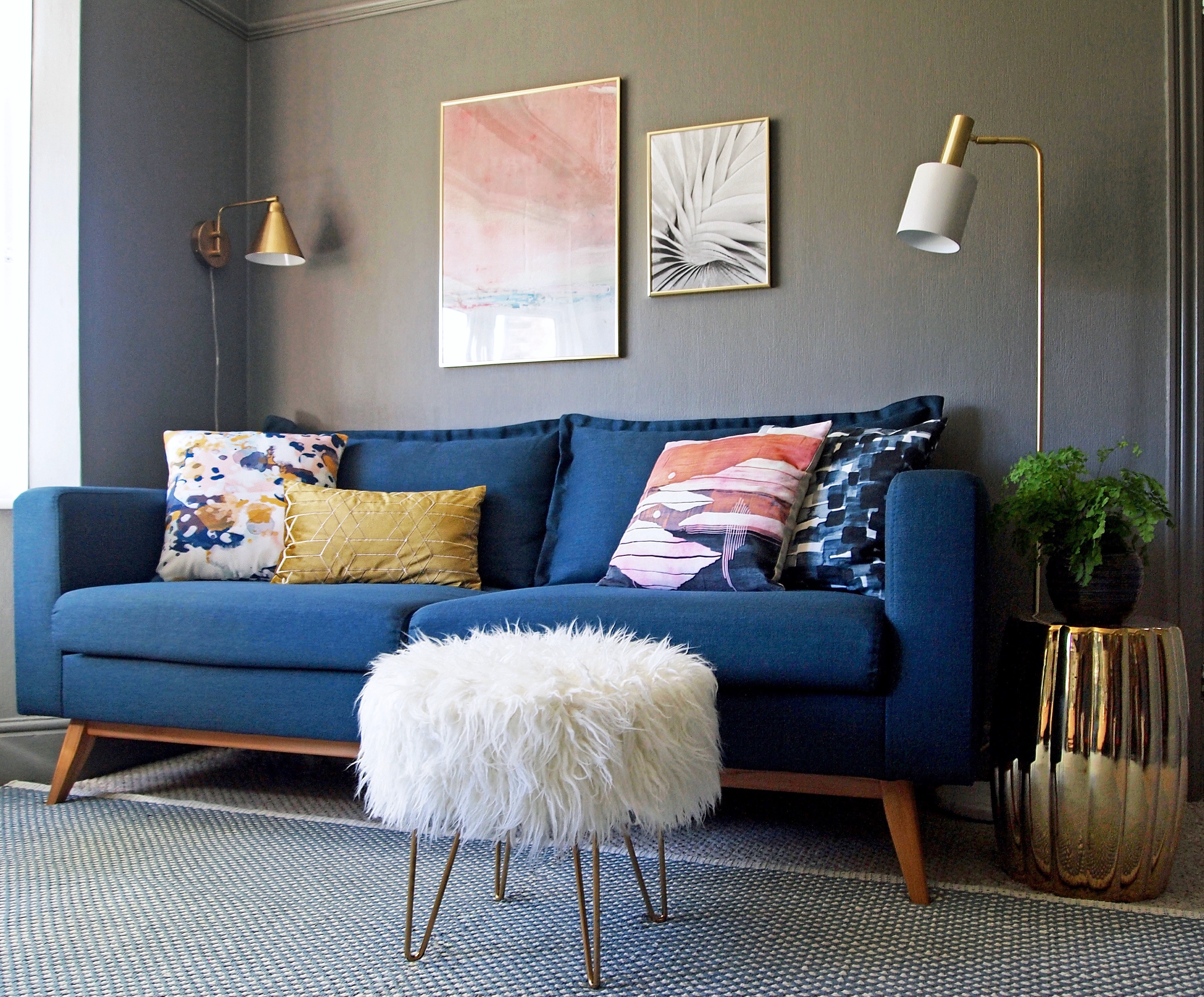 Maison Du Monde Schlafsofa Revamp Restyle Reveal My Living Room Reveal First Sense Interiors