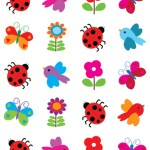 חרקים ופרחים