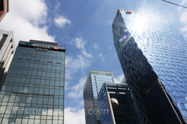 Banks and corporate offices are also housed in Myeondong.