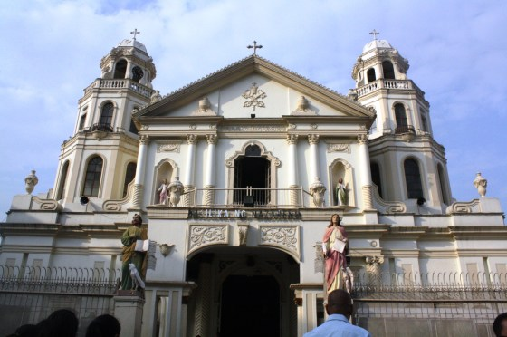 Church facade.