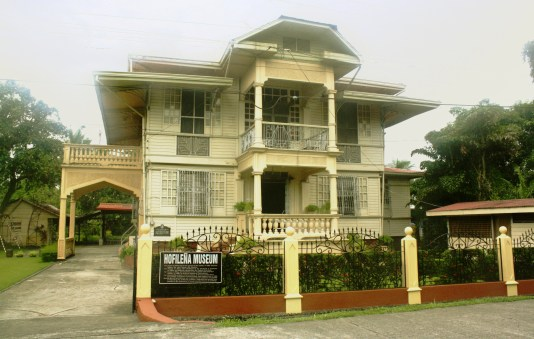 The Hofilena Heritage House.